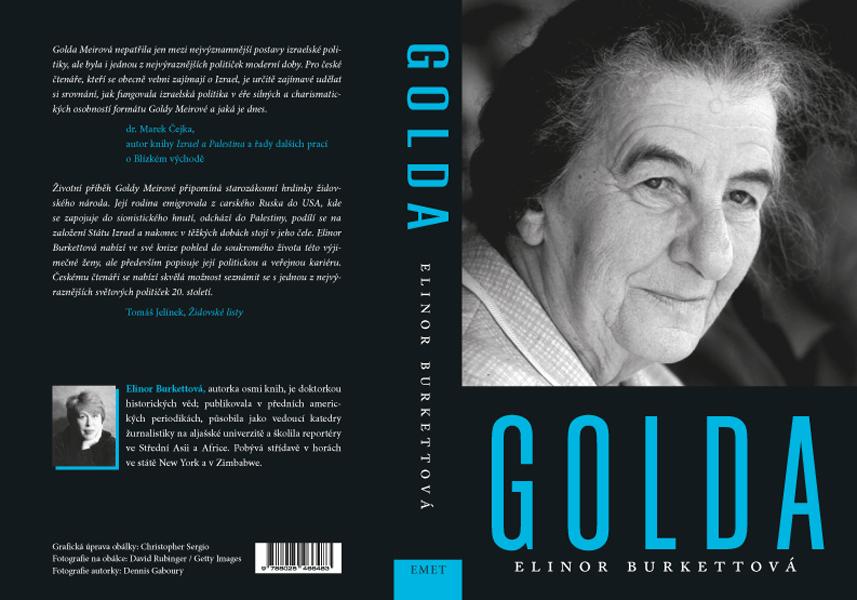Kniha »Golda«, pro nakladatelství Emet (Pavel Hejzlar) - kniha-obalka-Golda-pro-Emet_1